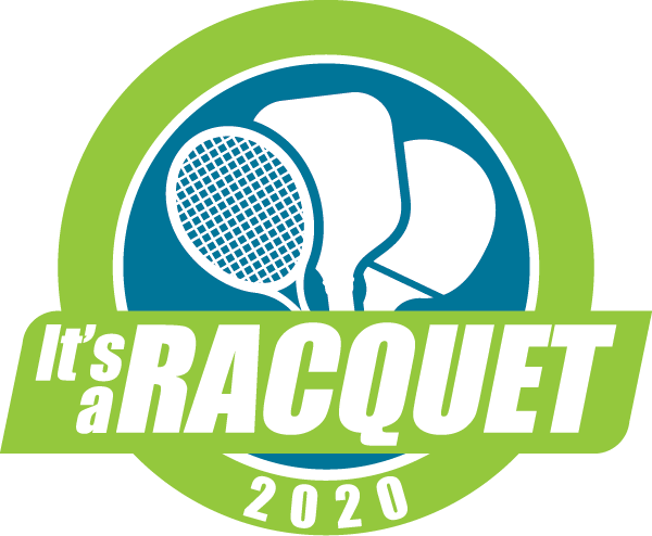It's a Racquet logo